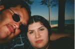 Last day of my first trip. Rogers Park Ave. Beach. September 2002.